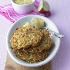 Kartoffelpuffer mit Apfelkompott Rezept | Weight Watchers