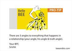Belle BEE tip for 'Sorry Series - II' @ Bee & Blu - beeandblu.com #indianfashionblog #indianlifestyleblog #boyfriend #blogger #sorry #relationship #lifestyletips #relationshiptips