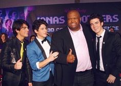 Jonas Brothers with Big Robb