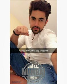 Zain Imam Instagram, Handsome Indian Men, Real Wife, Chocolate Boys, Smart Boy, Swag Boys, Happy Friendship Day, King Of My Heart, Awesome Beards