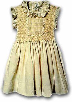 Mariasole girl's dress.  My kind of dress for little girls.