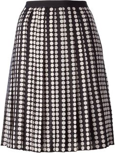 Shop Tory Burch 'Raisa' skirt in Russo Capri from the world's best independent boutiques at farfetch.com. Over 1000 designers from 60 boutiques in one website.