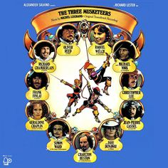 """The Three Musketeers"" (1974, Bell).  Music from the movie soundtrack."