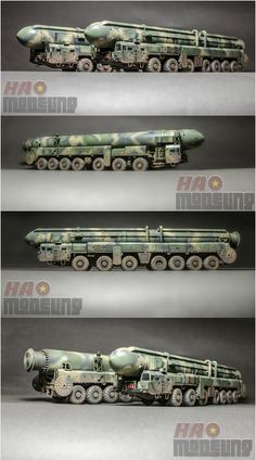 "My ""topol"" ss-25 ""sickle"" Russian intercontinental ballistic missile launcher. Finished in this year"