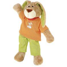 sigikid - Wombel Bombel - Spielfigur groß  - Größe: 42 cm  - Obermaterial: Baumwolle, Microfaserplüsch  - Füllung: Polyesterwatte  - waschbar bei 30°  - geeignet für Kinder ab +0 Monaten