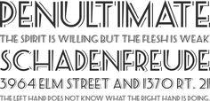 SeasideResort Font Phrases