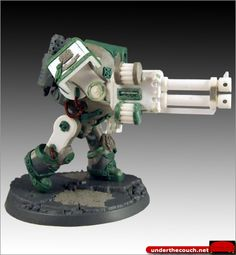 Pre Heresy Dreadnought 9  Twin-linked Autocannon
