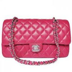 Chanel Sacs à main 2.55 Rose épaule à bandoulière Silverzipper CCS298,chanel pas cher €134.00