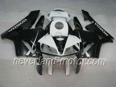 Honda CBR 600RR F5 2005-2006 ABS Verkleidung - Schwarz / Weiß #cbr600rrverkleidung #verkleidunghondacbr600rr