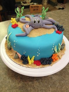 Under the sea cake