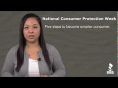 BBB's Stephanie Jacksis gives us tips on becoming a smarter, savvier consumer for this year's National Consumer Protection Week.