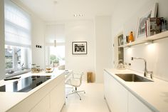 Modern Interior Design: A Period Apartment With A Stylish Decor The Kitchen  Is An Extremely