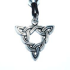Brigid's Knot Celtic Goddess Pendant – Celtic Pewter Jewellery