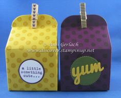 Bakers Box| Discover Ink – Ann Gerlach Independent Stampin' Up!® Demonstrator