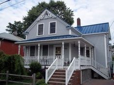 Standing Seam Metal Roofing in Deep Blue Sea traditional exterior