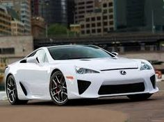 My dream car #LexusLFA Dream Bold!!!