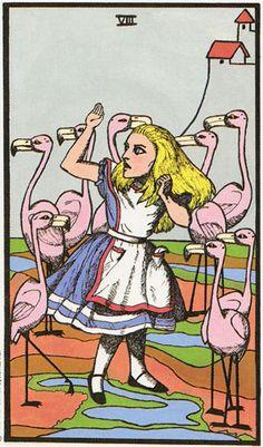 The Wonderland Tarot -If you love Tarot, visit me at www.WhiteRabbitTarot.com