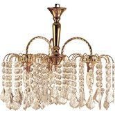 Fairmont Park Great for your living room, bedroom or hallway, this Lewes Crystal Chandelier features a fountain design and a gold finish. Empire Chandelier, Chandelier Bedroom, Candle Chandelier, Antique Chandelier, Chandelier Shades, Chandelier Lighting, Fountain Design, Fairmont Park, Wagon Wheel Chandelier