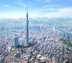 Tokyo Skytree , een van de mooiste torens in Tokyo.