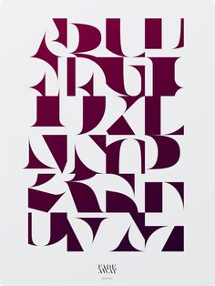 posters tipograficos de Aron Jansco
