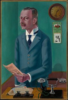 Otto Dix-The Businessman Max Roesberg,1922