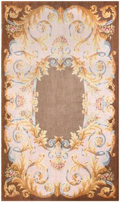 Antique Savonnerie French Rug 50184