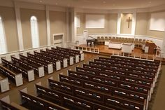 traditional church stage design - Google Search