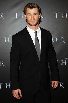 Chris Hemsworth #40 for 3am & Mirror Online 100 Sexiest men