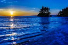 """Salish Sea Sunset"" by YouNews contributor Jimstilesesque!"