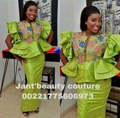 African Dress, African Lace, Mavis, African Fashion, Peplum Dress, My Design, Photos, Couture, Slay