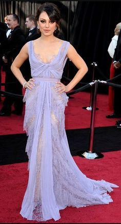 Mila Kunis in Elie Saab Couture, Oscars 2012