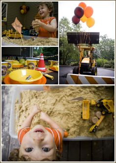 construction birthday | ... Baked – The Cake Blog » Real Party: Construction Birthday (cont