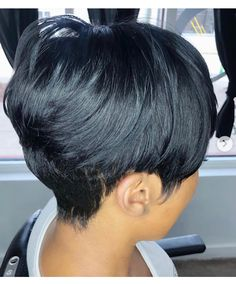 Short Sassy Hair, Short Hair Cuts, Pixie Cuts, Short Pixie, Pretty Hairstyles, Bob Hairstyles, Straight Hairstyles, Pixie Haircuts, Love Hair