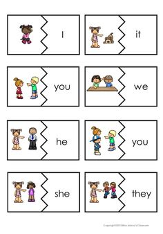 Personal pronouns - english flashcards on Tinycards English Grammar For Kids, Learning English For Kids, English Worksheets For Kids, English Lessons For Kids, Kids English, English Activities, English Language Learning, Teaching English, Learn English
