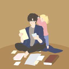 "izumicrazyworld: ""Sherlock and Rosie """