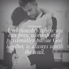 I'll wait as long as it takes. Lord, above all I want a man who loves you wholeheartedly!! A man who praises you with all he has!! A man who wants to share his love for Christ with me and his children !! He will always be worth the wait <3
