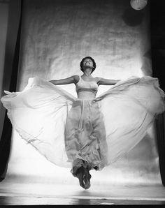 Lena Horne (June 30, 1917 - 2010), jazz singer, actress, performer…  Photo: Philippe Halsman, 1954