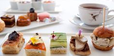 hotel bel-air, los angeles - afternoon tea @ wolfgang puck's restaurant