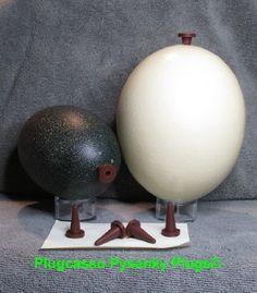 Hunedoara Ostrich Easter Egg | Pysanky: ostrich, rhea, emu ...