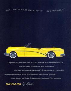 Buick Skylark 1953 - Mad Men Art: The 1891-1970 Vintage Advertisement Art Collection