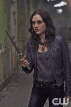 Caged Heat - Rachel Miner as Meg in SUPERNATURAL on The CW. Photo: Michael Courtney/The CW ©2010 The CW Network, LLC. All Rights Reserved.