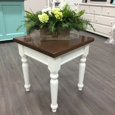 Little White: This is our true pure clean white that is perfect for modern or shabby chic pieces. Little White pairs with all other Superior Paint Co. White Furniture, Painted Furniture, White Chalk Paint, White Home Decor, White Houses, Little White, White Cabinets, This Is Us, Shabby Chic