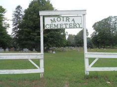 Moira Community Cemetery; Moira, Butler, New York, USA