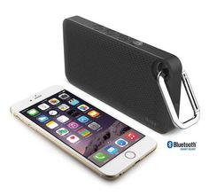 iLuv Aud Mini Slim Portable Bluetooth Speaker - Slim, compact design speaker that can easily fit in your pocket. This can easily stream your music via Bluetooth.