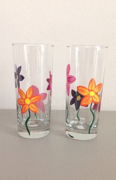 A personal favorite from my Etsy shop https://www.etsy.com/listing/208638539/chimney-glass-set-with-hand-painted