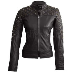 Leather Skin Shop is the only online store that offers Real Genuine Leather Jackets for Women of all ages. Pick your favorite color be it, Red, Yellow, White or other and on your style game! Purple Leather Jacket, Studded Leather Jacket, Leather Skin, Real Leather, Black Leather, Lambskin Leather, Cowhide Leather, Purple Quilts, Quilted Leather
