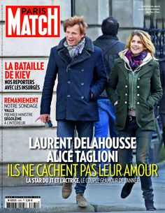 Alice Taglioni et Laurent Delahousse
