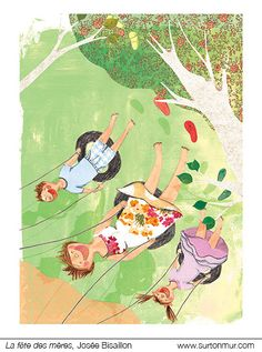 La fête des mères, Josée Bisaillon, http://surtonmur.com/
