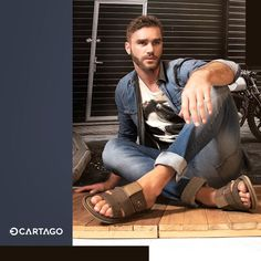 Men's Sandals, Leather Sandals, Male Fashion Trends, Men's Fashion, Barefoot Men, Male Feet, Sport Wear, Brogues, Slipper