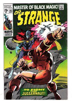 DOCTOR STRANGE #182: Silver Age Grade 7.5 Featuring the Juggernaut!  http://www.ebay.com/itm/DOCTOR-STRANGE-182-Silver-Age-Grade-7-5-Featuring-Juggernaut-/291310903002?roken=cUgayN&soutkn=BoM95L